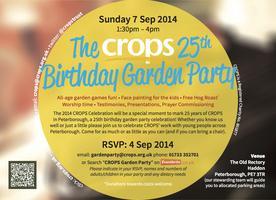 CROPS Garden Party 2014