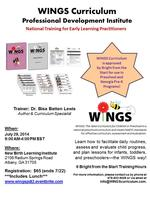 WINGS Curriculum Professional Development Institute -...