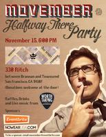 "Movember - ""Halfway There"" happy hour party!"