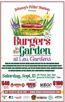 Johnny's Fillin Station Presents Burgers in the Garden