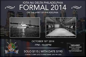 Iota Nu Delta Philadelphia Formal 2014