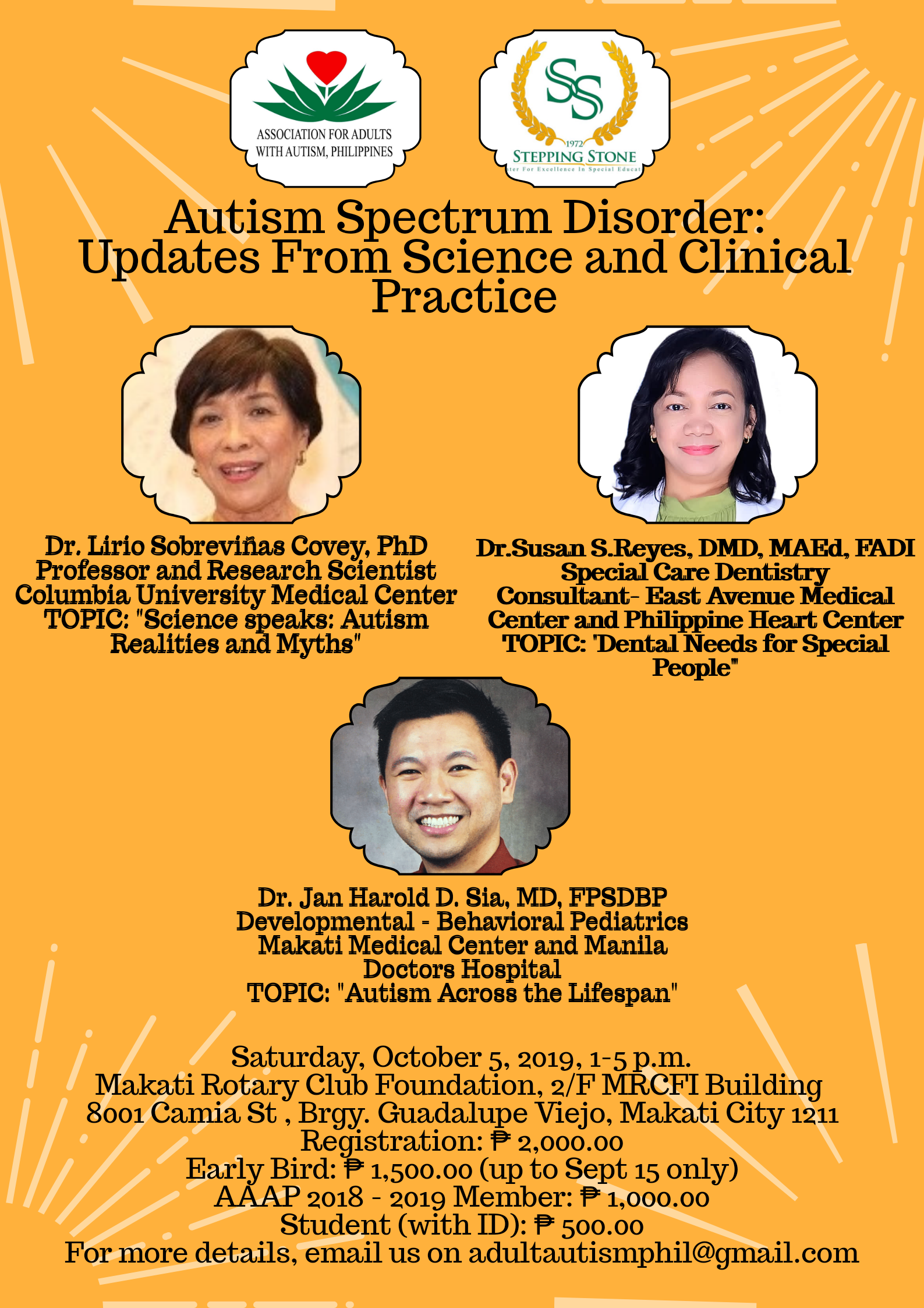 Autism Sprectrum Disorder: Updates From Science an Tickets