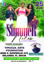Summer Notes - a Live Jazz and Poetry Experience