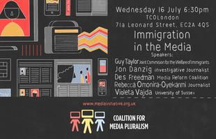 Public talk: Immigration in the Media
