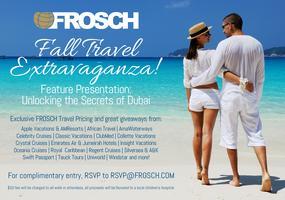 FROSCH Fall Travel Extravaganza