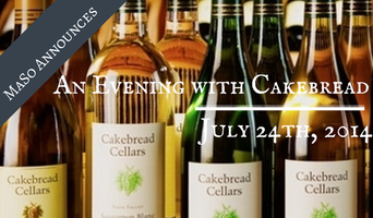 An Evening with Cakebread Winery