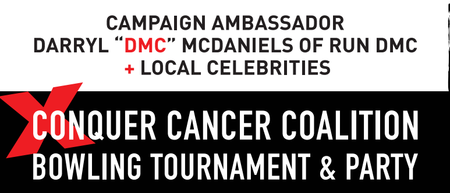 "Strike Out Cancer with Host Darryl ""DMC"" McDaniels of..."