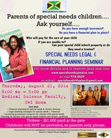 SPECIAL NEEDS LEGAL & FINANCIAL PLANNING SEMINAR