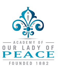 Academy of Our Lady of Peace logo