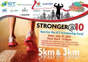 ICT Fun Run - Stronger@10