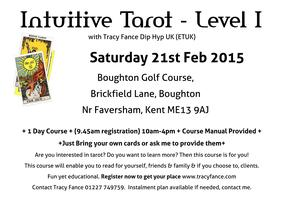 Intuitive Tarot Tuition with Tracy Fance - Level I