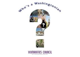 Who's a Washingtonian Grant Workshop