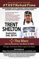 TRENT SHELTON LIVE IN SAN MARCOS | #TXSTREHABTIME