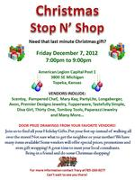 Christmas Craft and Vendor Stop N' Shop