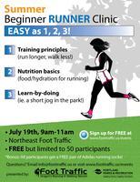 Beginning Runners Clinic: SUMMER