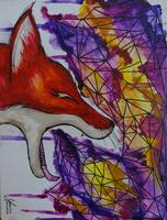 """AUGUST: Canvas Painting Class - """"Fox"""""""