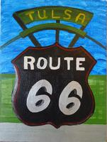 "JULY: Canvas Painting Class ""Route 66"""