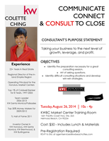 Consult Clinic w Colette Ching