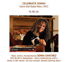 """Celebrate Sonia!"" - Tribute Ads & Donations Only"