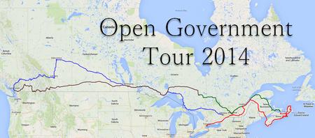 Open Government Tour 2014 - Victoria BC