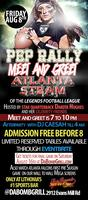 Atlanta Steam Meet and Greet Pep Rally/ Afterparty