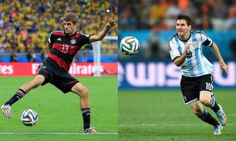 ARGENTINA vs. GERMANY 2014 World Cup FINAL