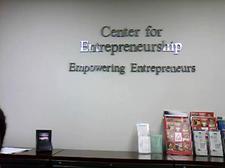 The Center for Entrepreneurship logo