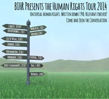 Human Rights Tour 2014: Shrewsbury, 22 October
