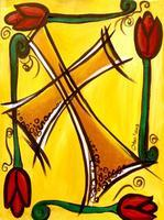 "Creole Canvas - ""Bronze Cross"" (SOLD OUT)"