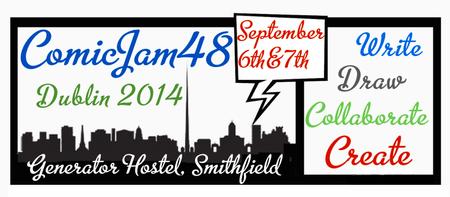 Dublin ComicJam48 2014