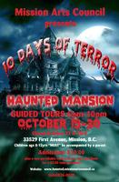 "Halloween Haunted Mansion ""10 DAYS of Terror"" - at the..."