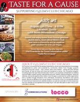 Taste For A Cause: A Fundraiser For Gilda's Club...