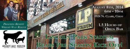 Lincoln Park Stadium BEARS Pre-Season Kick Off Party!