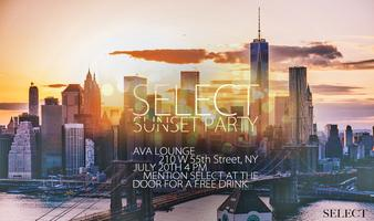 SELECT Sunset Party