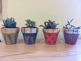 Teen Cactus Art