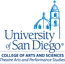 The University of San Diego Department of Theatre logo