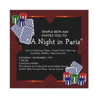 A Night in Paris---Temple Beth Ami Casino Night
