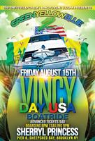 GREEN YELLOW BLUE 2 (GYB 2) - VINCY DAY USA BOATRIDE