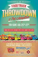 4th Annual Food Truck Throwdown & Pet Adoption