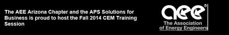 Fall 2014 CEM Training Session
