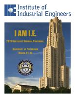 Institute of Industrial Engineers Northeast Regional Co...