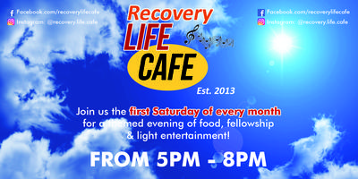 Recovery Life Cafe Tickets, Multiple Dates | Eventbrite