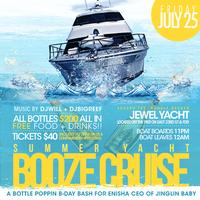 Summer Yacht Booze Cruise