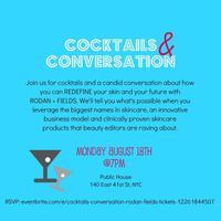 Cocktails & Conversation | Rodan + Fields