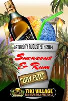"Snow Cone & Rum ""Day Fete"""