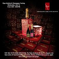 Piper Heidsieck Champagne Tasting