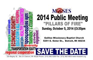 """2014 Public Meeting: """"Pillars of Fire"""""""