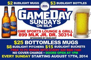 Game Day Sundays on MLK : Sponsored By Bud Light