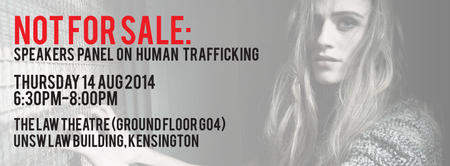Not for Sale: Speakers Panel on Human Trafficking