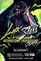 Lux Stars Int. Underground Party at 49 Grove